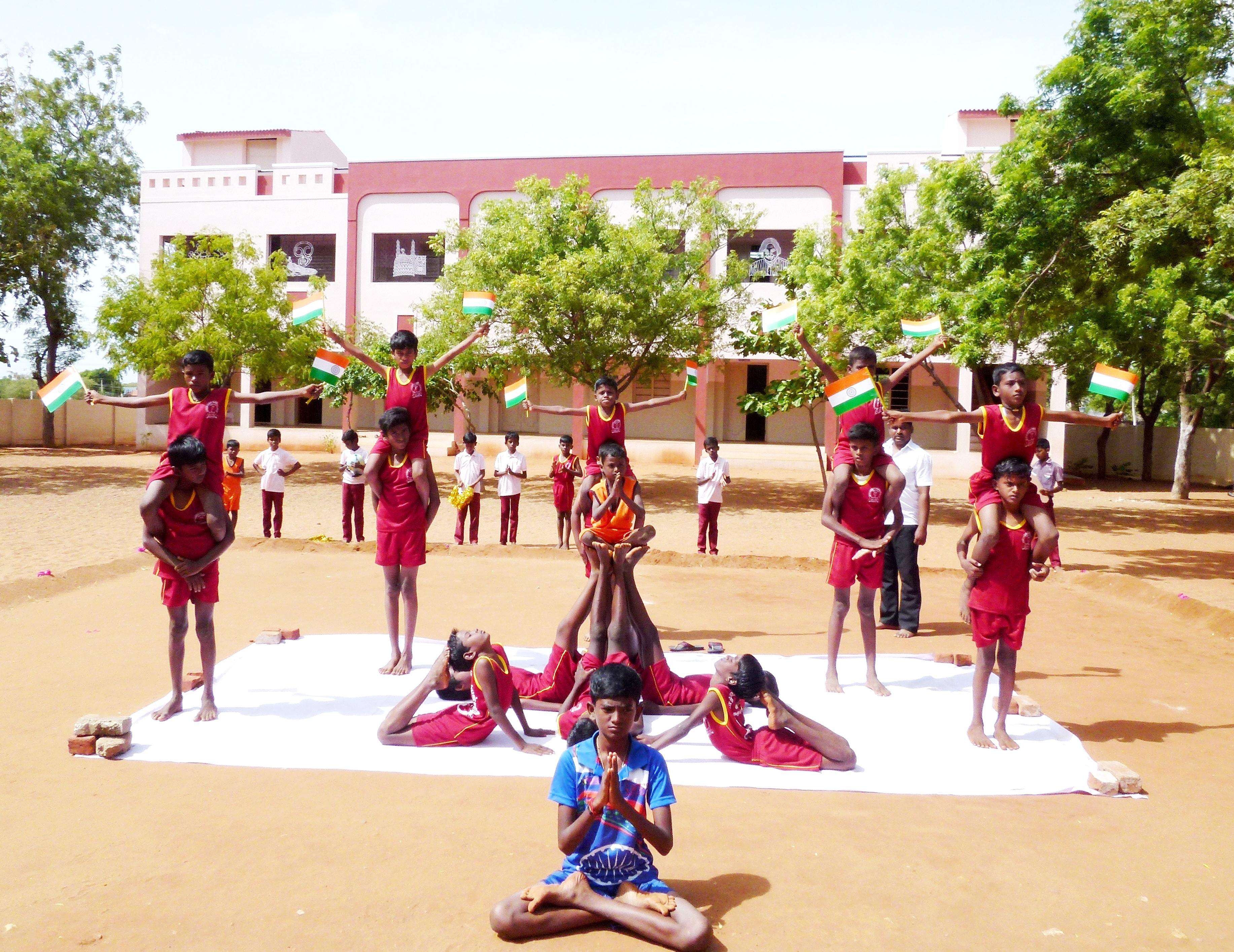Schulfest Zum Unabhängigkeitstag