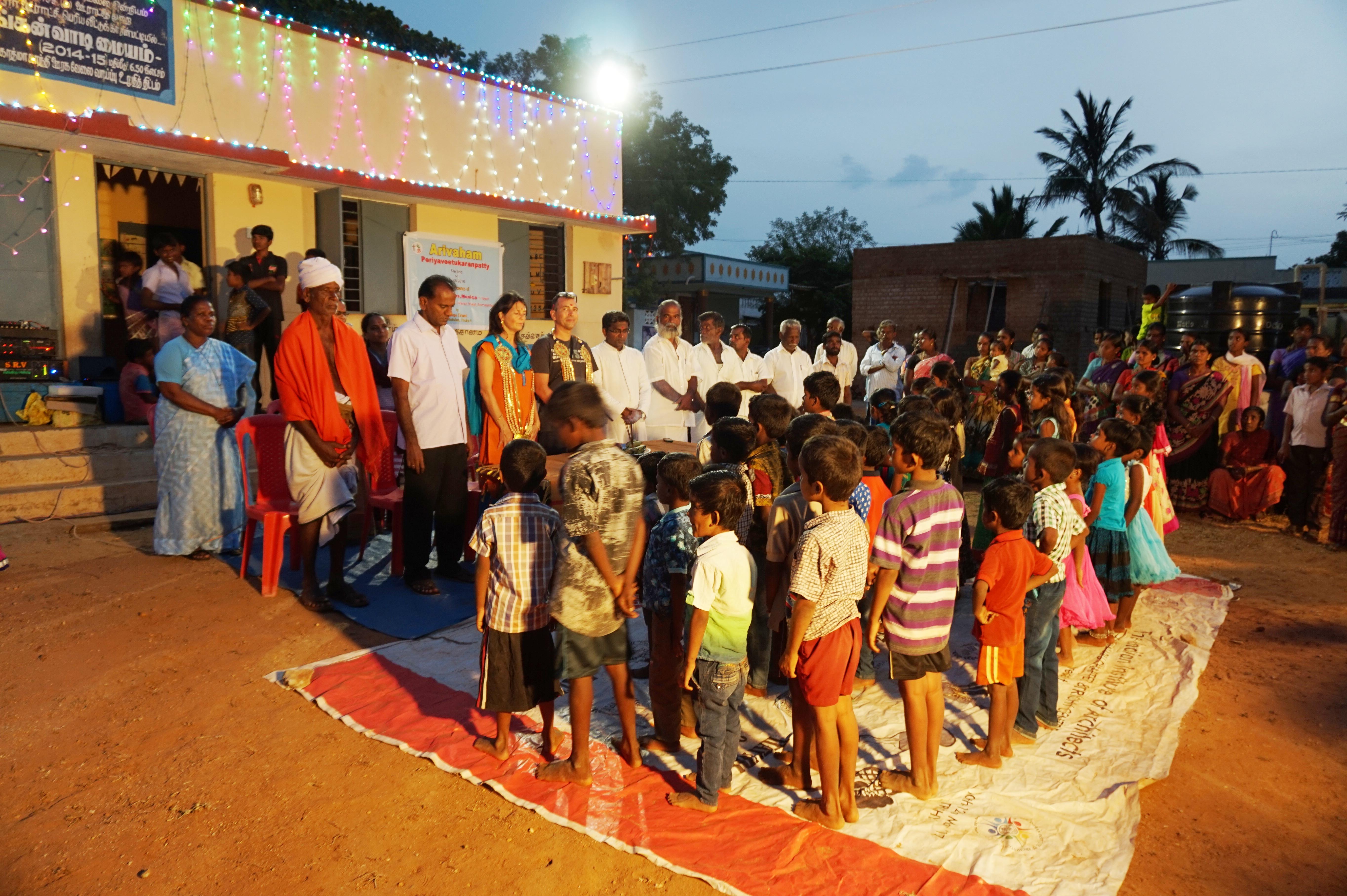 Lernklassen In Periyaveetukaranpatty Eröffnet