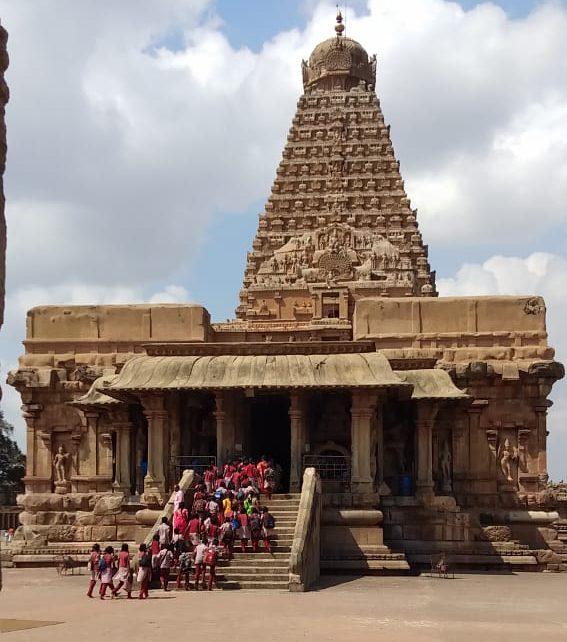 Schulausflug Nach Thanjavur