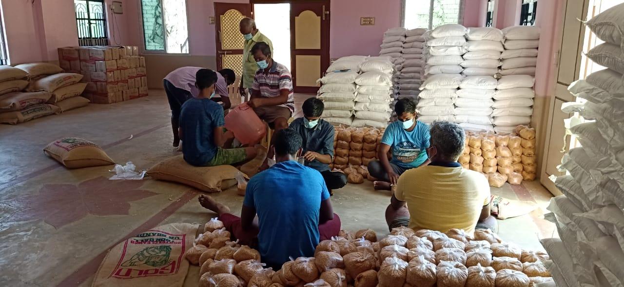 Notpakete Für 10.500 Menschen In Den Dörfern, Juni 2021